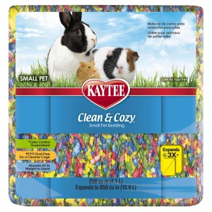 Clean and Cozy Small Pet Bedding - 250 cu in - Birthday Cake