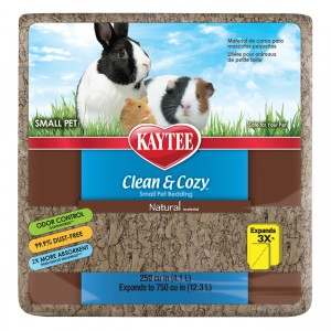 Clean and Cozy Small Pet Bedding - 250 cu in - Natural