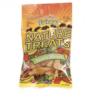 Peter's Nature Treats - Apple Slices - 1 oz