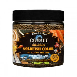 Goldfish Sinking Color Pellets - 2.2 oz