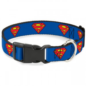 Superman Shield Collar - Medium