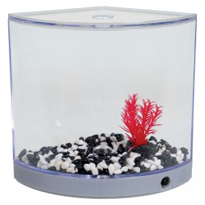 BettaArc LED Betta Kit - Silver - 1.2 L