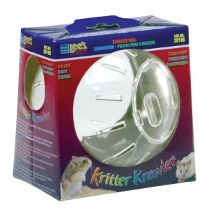 Kritter Krawler Exercise Ball - Transparent - Dwarf