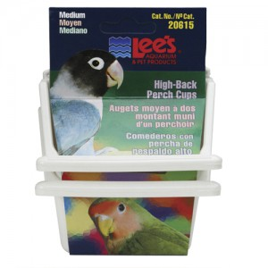 High-Back Perch Cup - Assorted - Medium - 2 pk