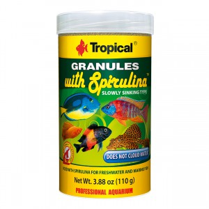 Granules with Spirulina - 3.88 oz