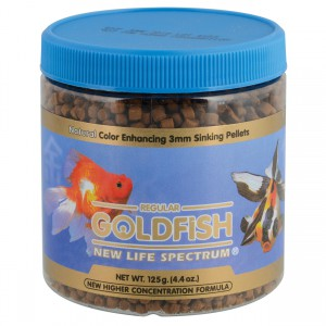 Goldfish Formula - 3mm Sinking Pellets - 125 g