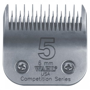 Competition Series Detachable Blade Set - #5 Skip Coarse - 6 mm