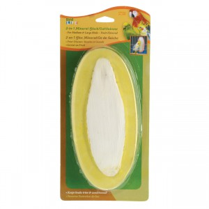 2-in-1 Mineral Block / Cuttlebone - Fruit Flavor