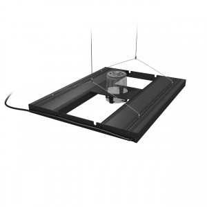 """T5 HO Hybrid 4-Lamp Mounting System Fixture - 24"""""""
