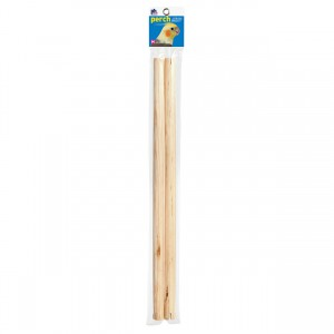 "Bird Perch - 19"" x 0.75"" dia - 2 pk"