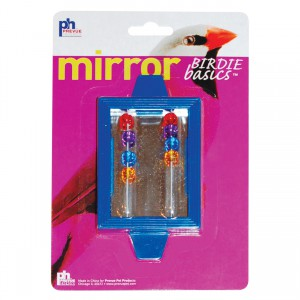 Birdie Basics Clip-on Mirror with Beads