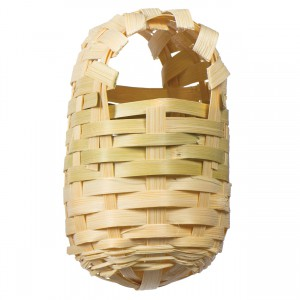Bamboo Covered Nest - Finch