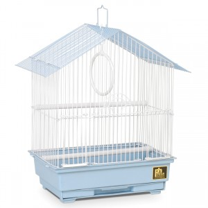 "House Style Parakeet Bird Cage - Blue - 12"" x 9"" x 15"""
