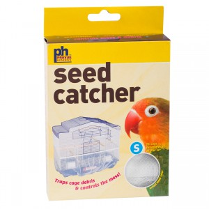 "Mesh Seed Catcher - Assorted Colors - 26"" to 52"""
