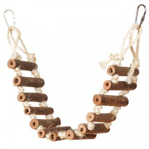 Naturals Rope Bird Ladder - 20""