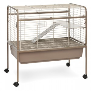 "Small Animal Cage with Stand - Brown - 32.5"" x 21.63"" x 33"""