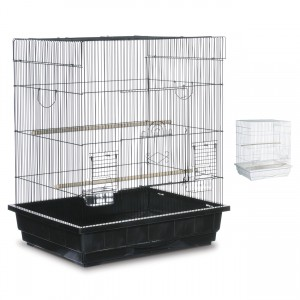 "Keet/Tiel Square Roof Bird Cage - Assorted Colors - Multipack - 25"" x 21"" x 29.5"""