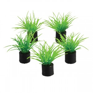 "Mini Plant - Green Grass - 1.5"" - 5 pk"