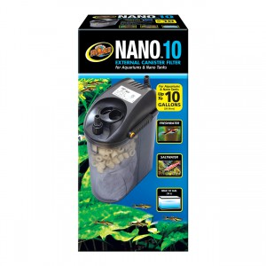 Zoo Med Nano External Canister Filter - 10 gal