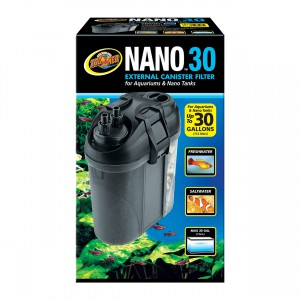 Zoo Med Nano External Canister Filter - 30 gal