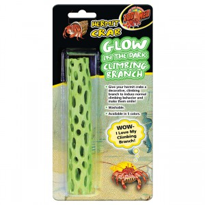 Hermit Crab Climbing Branch - Glow-In-The-Dark