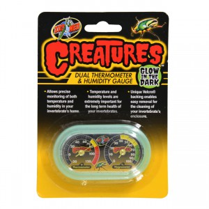 Creatures Dual Thermometer & Humidity Gauge