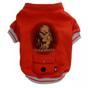 Chewbacca Fleece Jacket - Red - Large